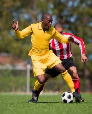soccer one on one North Sydney Physiotherapy