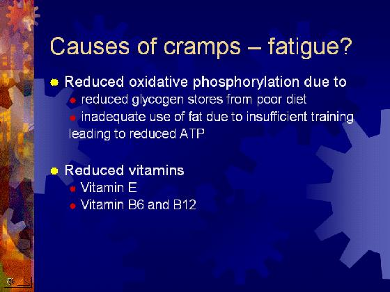 Triathlon Cramps Ppt